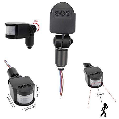 Outdoor Pir Motion Detector - HiLetgo Outdoor DC 12V Automatic Infrared PIR Motion Sensor Switch for LED Flood Light