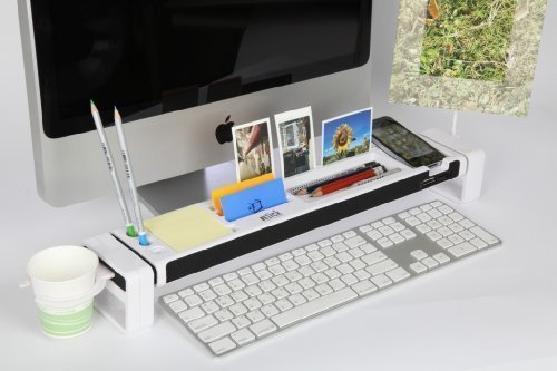 office cubicle accessories. cyanics istick desktop organizer computer desk accessories 3 port usb hub cup holder card reader letter opener paper storage space for stationery office cubicle