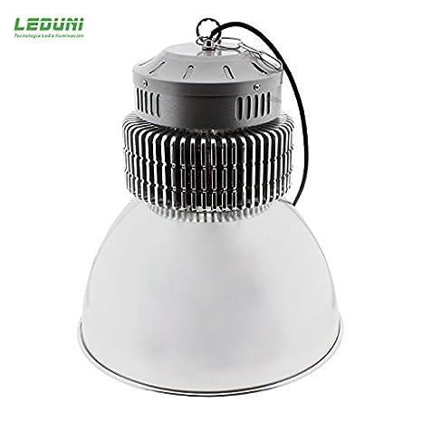 Campana LED SMD Pro 150W 60º industrial Ideal para nave, almacen luz blanca 6000k taller Leduni: Amazon.es: Iluminación