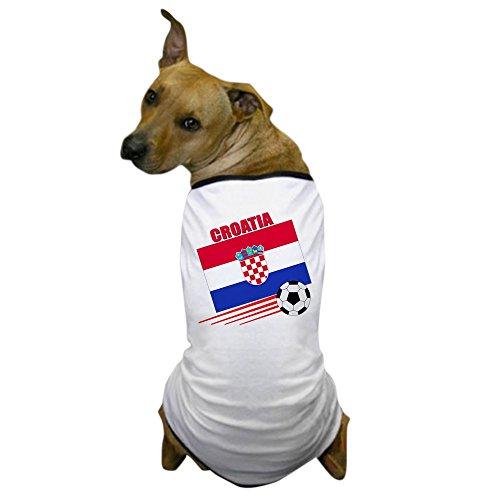 7a7abde5 CafePress - Croatia Soccer Team Dog T-Shirt - Dog T-Shirt, Pet ...