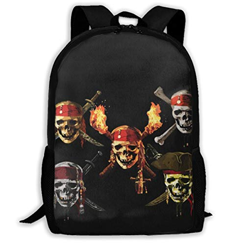Pirates Of The Caribbean Backpack - Pirates Of The Caribbean Backpack Casual