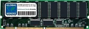 256MB PC100 100MHz 168-PIN SDRAM ECC REGISTRADO DIMM (RDIMM) MEMORIA RAM PARA SERVIDORES/ESTACIONES DE TRABAJO/PLACA BASE