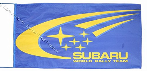 Beautiful Flag SUBARU RALLY TEAM FLAG BANNER 2.5 X 5 ft