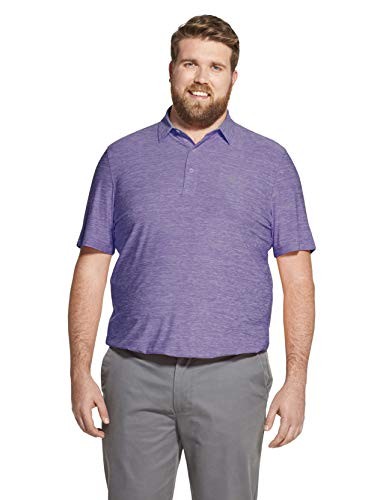 Polo Stretch Golf Cotton - IZOD Men's Golf Title Holder Short Sleeve Polo Shirt, Dahlia Purple X-Large
