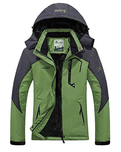 Cerniera Impermeabile Outerwear Verde Fashion Antivento Joggers EErxHq8Z