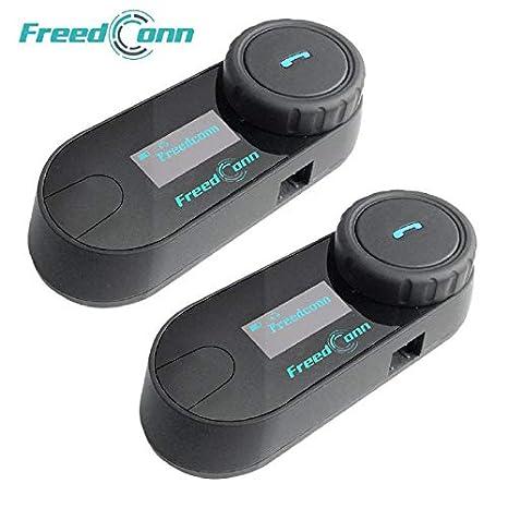 Amazon.com: FreedConn TCOM-SC - Intercomunicador Bluetooth ...