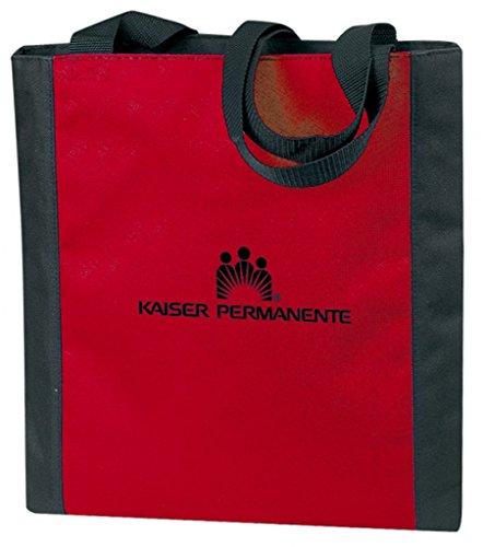 DDI 1902360 Poly Tote Bag - Red-Black by DDI