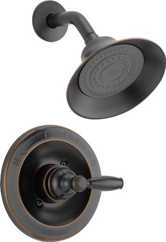 - Peerless Claymore Single-Handle Shower Faucet Trim Kit with Single-Spray Shower Head, Oil-Rubbed Bronze PTT188780-OB (Valve Not Included)