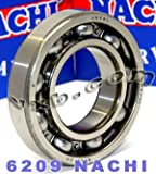 6209 Nachi Bearing 45x85x19:Open:C3:Japan