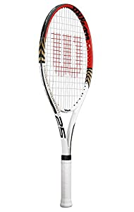 Wilson Tennisschläger Roger Federer  25, weiß/rot, WRT227700