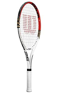 Wilson Roger Federer Junior Recreational Racket (Red/Gold, 23-Inch)