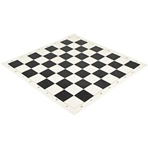 20 Inch Roll-up Vinyl Tournament Algebraic Chess Board by The Regency Chess Company