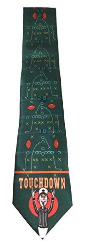 Football Mens Tie - Stonehouse Collection Men's Football Tie - Novelty Football Necktie - Fun Ties