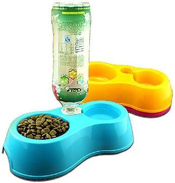 Tinte Bol de comida Agua pluma estilográfica para perros S ...