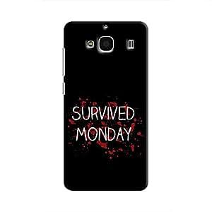 Cover It Up - Monday Survivor Redmi 2 Prime Hard Case