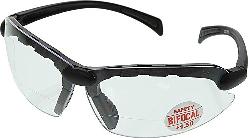 C-2000 Bifocal Safety Glasses 1.50 - CC150