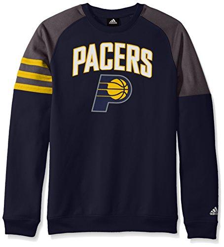 NBA Youth 8-20 Indiana Pacers Tech Fleece Long Sleeve Crew-Dark ()