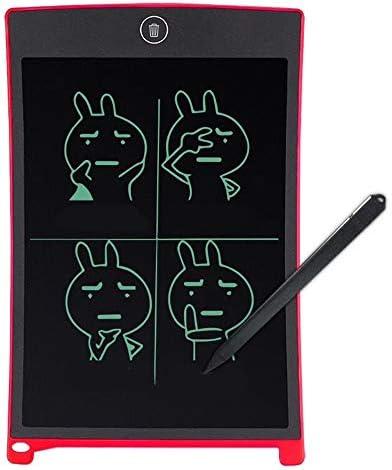 LKJASDHL 8.5インチLCDタブレット超薄型ライティングペインティンググラフィティLCD電子書道ボード小さな黒板グラフィックタブレット (色 : レッド)