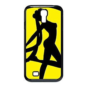 sailor moon silhouette Samsung Galaxy S4 9500 Cell Phone Case Black Custom Made pp7gy_7201274