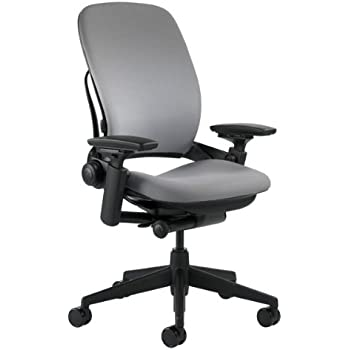 Steelcase Leap Chair, Grey Fabric