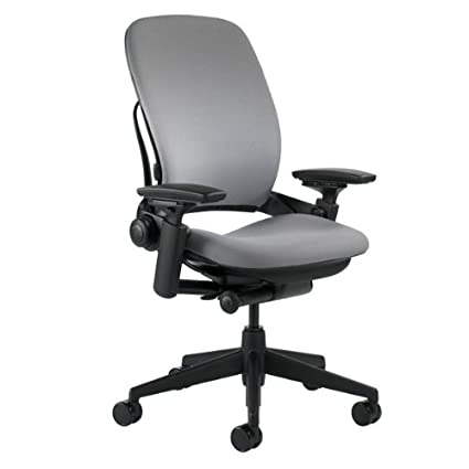 steelcase leap chair grey fabric - Steelcase Leap Chair