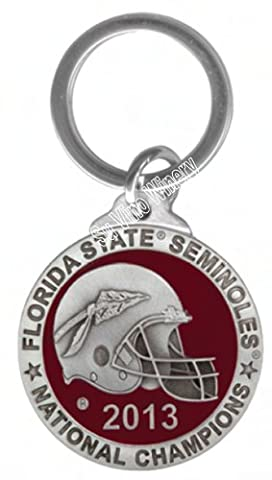 2013 BCS National Champions Florida State Seminoles Color Key Chain - National Champions Keychain
