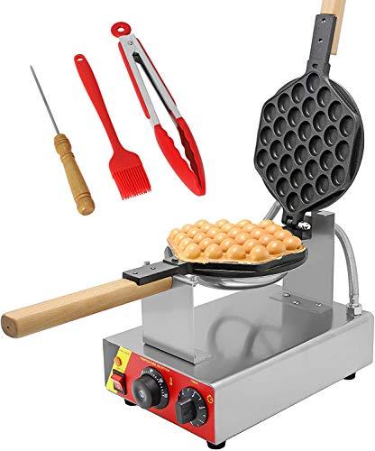 CGOLDENWALL NP-547 Gofrera Máquina de Gofre con Forma de Huevo del Estilo de Hong Kong Waffle Maker Eléctrica…