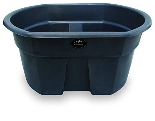 High Country Plastics 155 Gallon Water Tank, Ash Gray