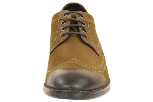 Clarks Delsin Limit Tan leath Men's Business leather shoes brown braun