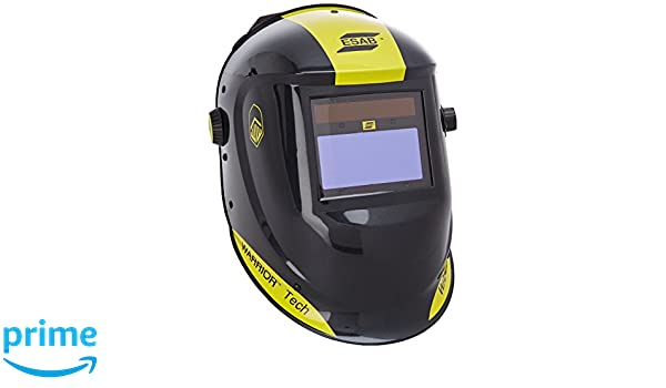 ESAB 0700000405 Tech - Casco de soldar, color negro: Amazon.es: Industria, empresas y ciencia