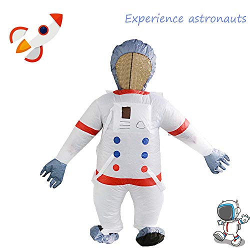 Euone Astronaut Cosplay Costume , Party Uniforms Inflatable Carnival Funny Costumes Christmas Astronaut Cosplay ()