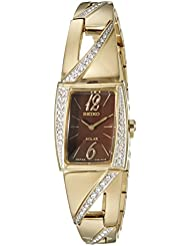 Seiko Womens SUP248 Analog Display Japanese Quartz Gold Watch
