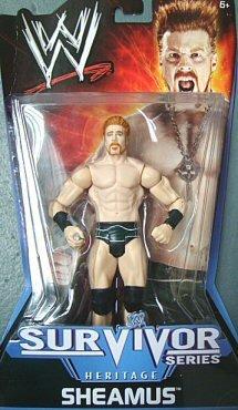 Wwe Royal Rumble 2009 - WWE Sheamus 2009 Survivor Series Figure - Heritage Series PPV #10