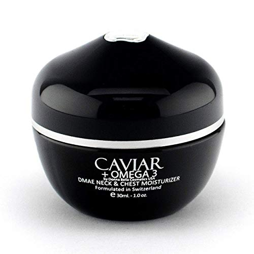 Donna Bella Caviar DMAE Moisturizer Cream Face Moisturizer with Retinol, Hyaluronic Acid & Breakthrough Anti Aging, Anti Wrinkle Complexes - Face & Neck Skin Care for Women, All Skin Types