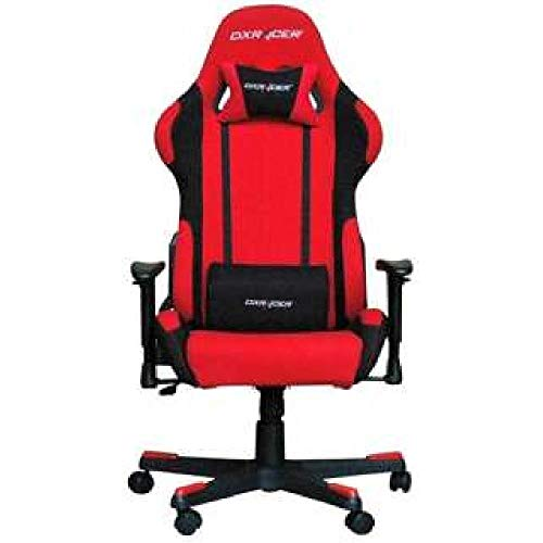 Price comparison product image DXRACER Gaming chair deluxe racer chair -with headrest orchid decorative collar port- (red) DXR-RDN