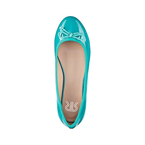 Collections Vernice La in Verde Ballerine Redoute Donna Txzw5aq