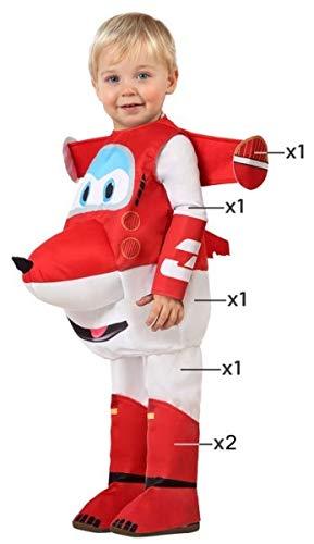 Boys Girls Super Wings Jett Aeroplane Cartoon Halloween Fancy Dress Costume Outfit 3-4 years