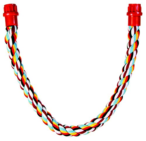 Trixie 75cm Rope Perch For Parrots. Cage Bird
