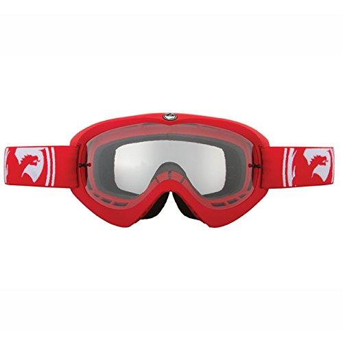 Dragon MDX Masque de Sport Anti Buée Homme Rouge