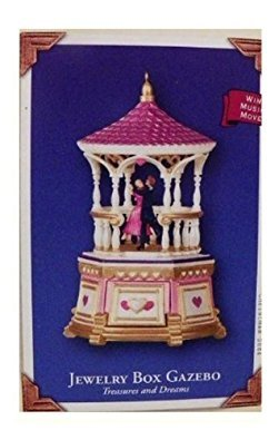 (Treasures and Dreams 3rd in Series: Jewelry Box Gazebo 2004 Hallmark Keepsake Ornament QX8121)