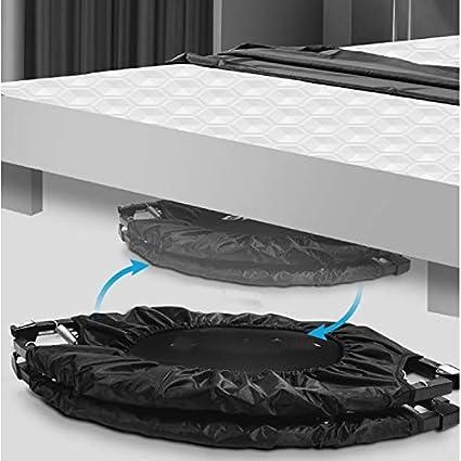 Falt-Indoor-Trampoline Mit Sicherheitsauflage for Kinder Adult Fitness ULZ WWBou Kleines Indoor-Trampolin for Kinder Color : Blue