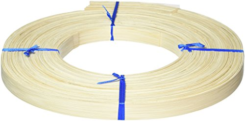 Commonwealth Basket Flat Reed 3/4-Inch 1-Pound Coil, Approximately, 90-Feet (Flat 1 Reed)
