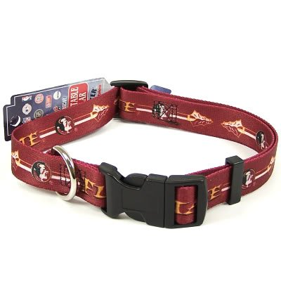 FLORIDA STATE SEMINOLES DOG PET COLLAR ST. SZ M