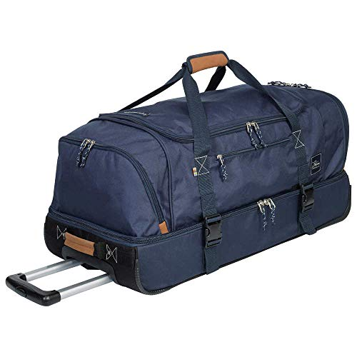 The Skyway Luggage Company Tww-Compartment Rolling Duffel ()