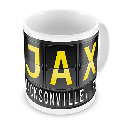 - Coffee Mug JAX Airport Code for Jacksonville, FL - NEONBLOND