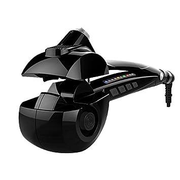 J-Power rizador de pelo automático pelo vapor Cabello Pelo Cabello para pelo largo, LCD Digital Display, color negro: Amazon.es: Salud y cuidado personal