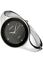Ledhill KIMIO Elegent fashion round face lady's women's bracelet bangle wrist quartz watch