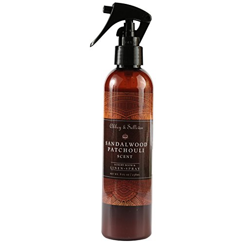 (Abbey & Sullivan Linen Spray, Sandalwood Patchouli, 8 oz.)