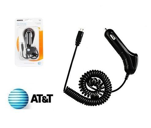 BRAND NEW at&t usb micro-Usb Car charger for Sasumg Galaxy / Motorola Droid Amazon Kindle 2 DX
