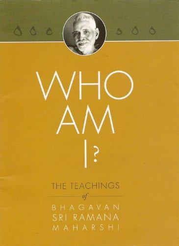 Who Am I? The Teachings Of Bhagavan Sri Ramana Maharshi (Pocket Edition)
